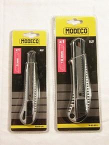 PVC vágó kés 9 mm alumínium házas | MODECO N63011