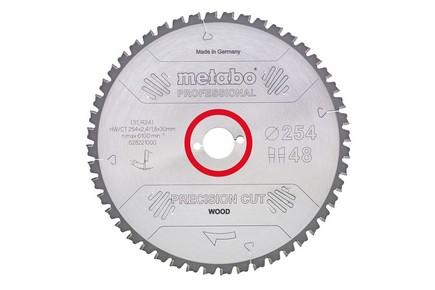 Körfűrésztárcsa, körfűrészlap PRECISION PROFESSINAL 300 mm x 30 mm Z48 WZ 15° | METABO 628051000