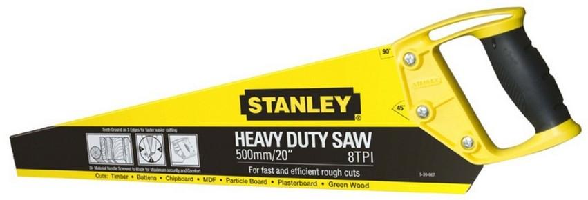 Rókafarkú fűrész, kézifűrész 500 mm, 8 TPI Basic   STANLEY 1-20-087