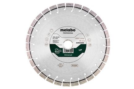 Gyémánt vágókorong, vágótárcsa 350 mm x 20 mm / 25,4 mm   METABO 628564000