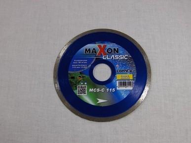 Gyémánt vágókorong, vágótárcsa 115 mm csempevágó sarokcsiszolóhoz, hobby | MAXON MCS115H