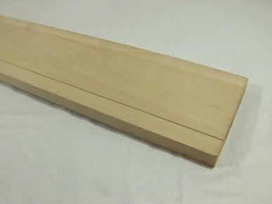 Küszöb 10 cm x 75 cm széles keményfából