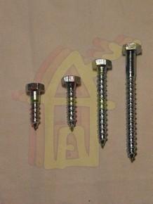 Állványcsavar 10 mm x 160 mm DIN 571