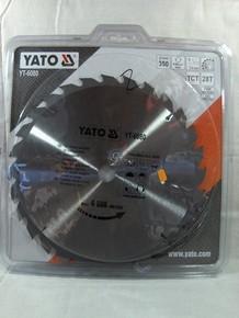Körfűrésztárcsa, körfűrészlap 350/30 mm Z28 vídiás | YATO YT-6080