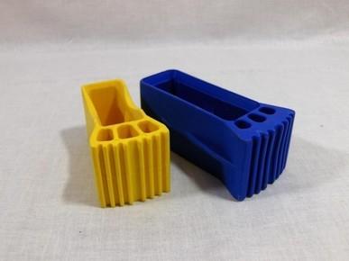 Létra talpsapka gerendához 55 mm x 20 mm  sárga   5023114
