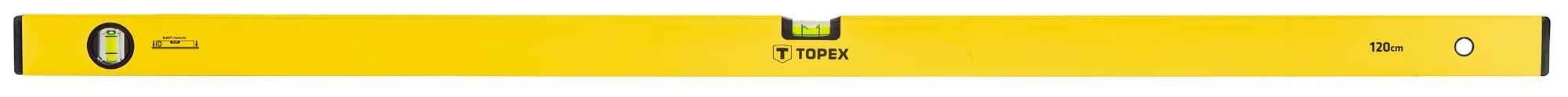 Vízmérték 120 cm 2 libellás | TOPEX 29C505