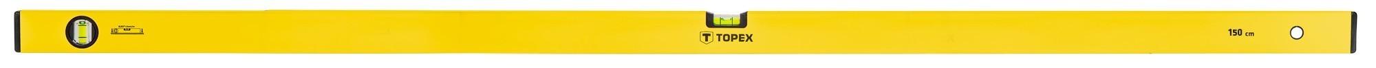 Vízmérték 150 cm 2 libellás   TOPEX 29C506