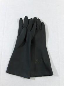 Védőkesztyű gumikesztyű neopren 7-es méret