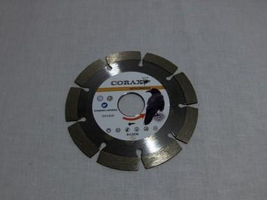 Gyémánt vágókorong, vágótárcsa 115 mm x 22,3 mm x 10 mm szegmenses, sarokcsiszolóhoz, Standard Uni | CORAX CR645316