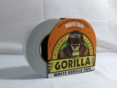 GORILLA Tape ragasztószalag White 48 mm x 27 mfefér | GORILLA