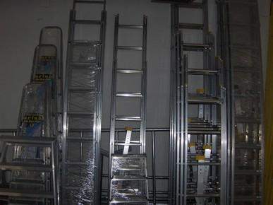 Létra 1 x 9 fokos alumínium támasztó létra Eurostar | ZARGES 49109
