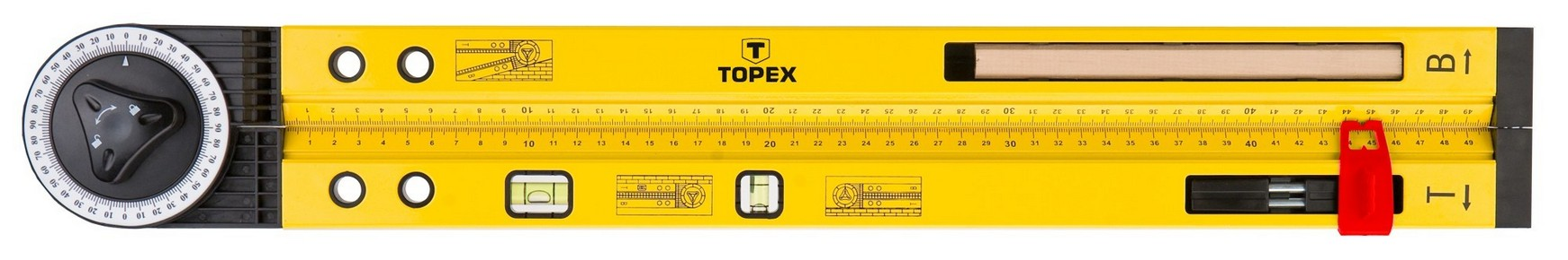 Szögmérő | TOPEX 30C321