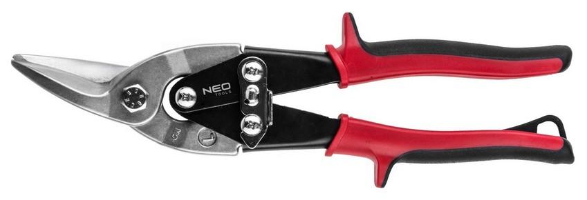 Lemezolló, lemezvágó olló  250 mm balos, áttételes   NEO 31-060