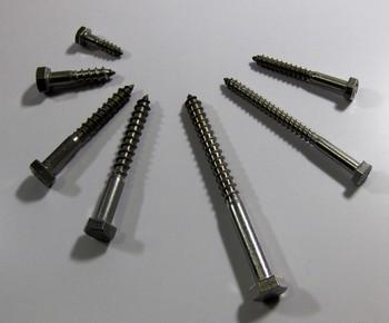Állványcsavar 6 mm x 80 mm DIN 571 A2