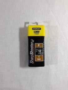 Tûzõkapocs 12 mm 1000 db F-típusú | STANLEY 1-TRS808-T
