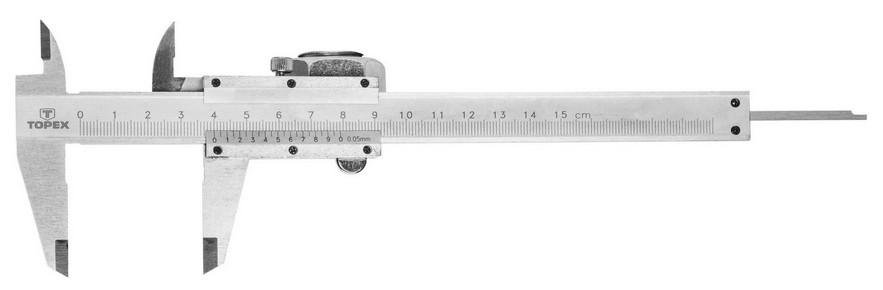 Tolómérõ 150 mm, 0,05 mm pontosság | TOPEX 31C615