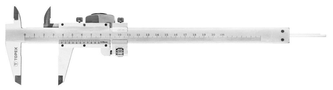 Tolómérõ 200 mm, 0,05 mm pontosság | TOPEX 31C616