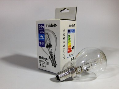 Izzó halogén Classic Mini 42 W E14 2000 h | AVIDE AT0553