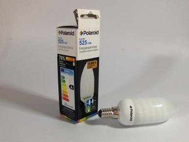 Izzó energiatakarékos gyertya E14 11 W | POLAROID
