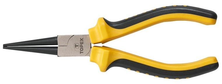 Kerekcsőrű fogó 160 mm | TOPEX 32D109