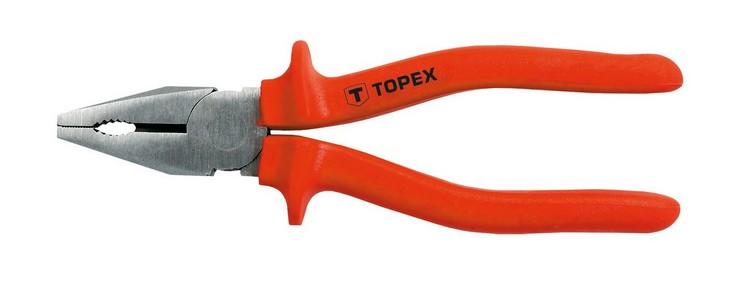Kombináltfogó 180 mm szigetelt   TOPEX 32D511