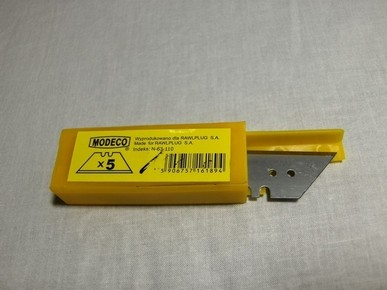 PVC vágó penge trapéz 5 db | MODECO N63110