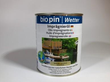 Természetes impregnálóolaj 2,5 l | BIOPIN