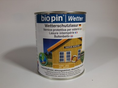 Idõjárásálló lazúr fenyõ 2,5 l | BIOPIN