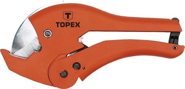 Csővágó fogó 0 mm - 42 mm PVC, PE, PP cső vágásához | TOPTOOLS 34D034