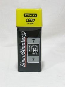 Tûzõkapocs 14 mm 1000 db C-típusú, kábelhez | STANLEY 1-CT109-T