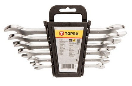 Villáskulcs készlet 6 mm - 17 mm | TOPEX 35D655