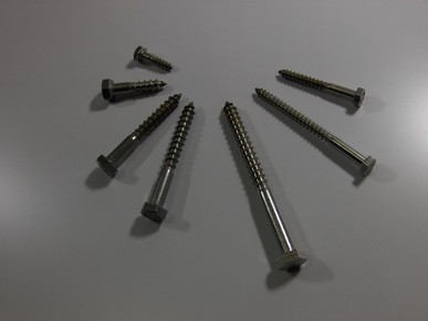 Állványcsavar 6 mm x 70 mm A2