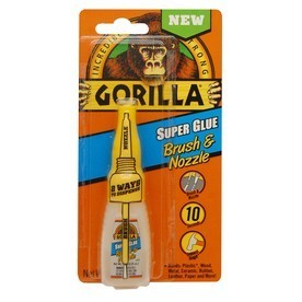 GORILLA Glue 12 g pillanatragasztó Brush&Nozzle   GORILLA