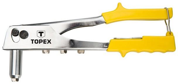 Popszegecshúzó 2,4 3,2 4 4,9 mm, alumínium | TOPEX 43E707