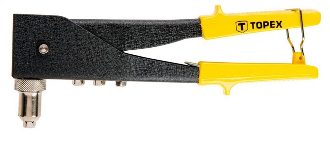 Popszegecshúzó 2,4 3,2 4 4,10 mm, alumínium | TOPEX 43E712