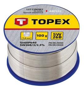 Forrasztó ón 1 mm 100 g, SW26B | TOPEX 44E522