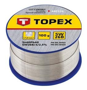 Forrasztó ón 1,5 mm 100 g | TOPEX 44E524