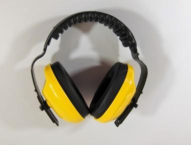 Fülvédő Max 400 sárga | 31040