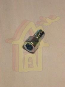 Hengeres fejû, belsõ kulcsnyílású csavar M12 x 20 mm horganyzott