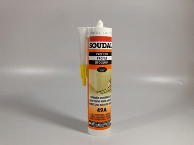 Szerelőragasztó 310 ml oldószermentes 49A | SOUDAL