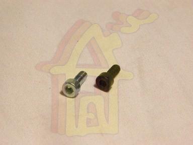 Hengeres fejû, belsõ kulcsnyílású csavar M4 x 10 mm horganyzott DIN 912