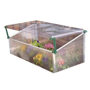 Polikarbonát melegágy, szimpla üvegház ágyás, 105 cmm x 53 cm x 43 cm palánta ágy   PALRAM 701148