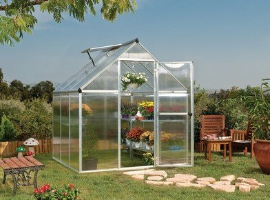 MULTILINE 6 x 6 polikarbonát üvegház, 190 cm x 185 cm x 209 cm melegház | PALRAM 701630