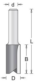 Marófej, marókés egyenes d:8/D:4/B:11/L:51 | HIKOKI 754052