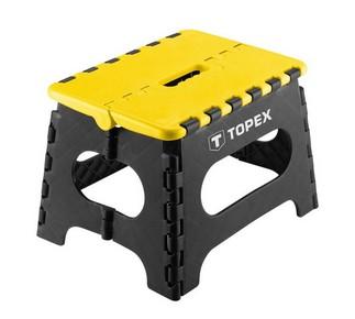 Összecsukható sámli 150 kg | TOPEX 79R319