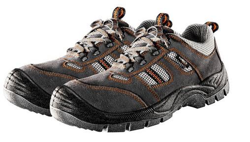 Munkavédelmi cipő hasított bőr 41-es S3 | NEO 82-032