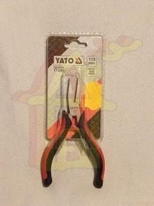 Laposcsõrû fogó, laposfogó 115 mm mûszerész | YATO YT-2085