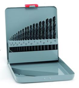 Fémfúrószár készlet 1 mm - 10 mm HSS Sprint KM19, 19 részes | ALPEN 0000800311100