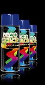 DECO COLOR Decoration festék spray 400 ml ezüst RAL 9006 | DECO COLOR