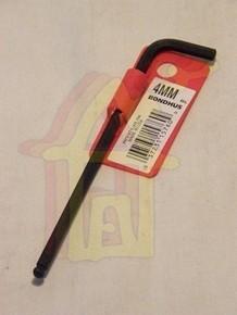 Imbuszkulcs 4 mm gömbvégű | BONDHUS 15760